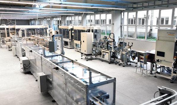 Automatyzacja procesów przemysłowych w przypadku istniejących produktów